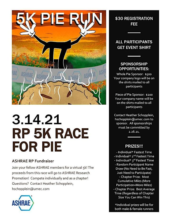 ASHRAE RP 5k Run for Pie image