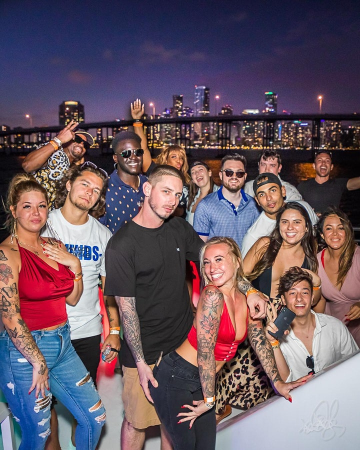 #MIAMI VIP YACHT PARTY image