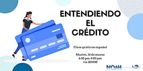 Entendiendo el Crédito entradas