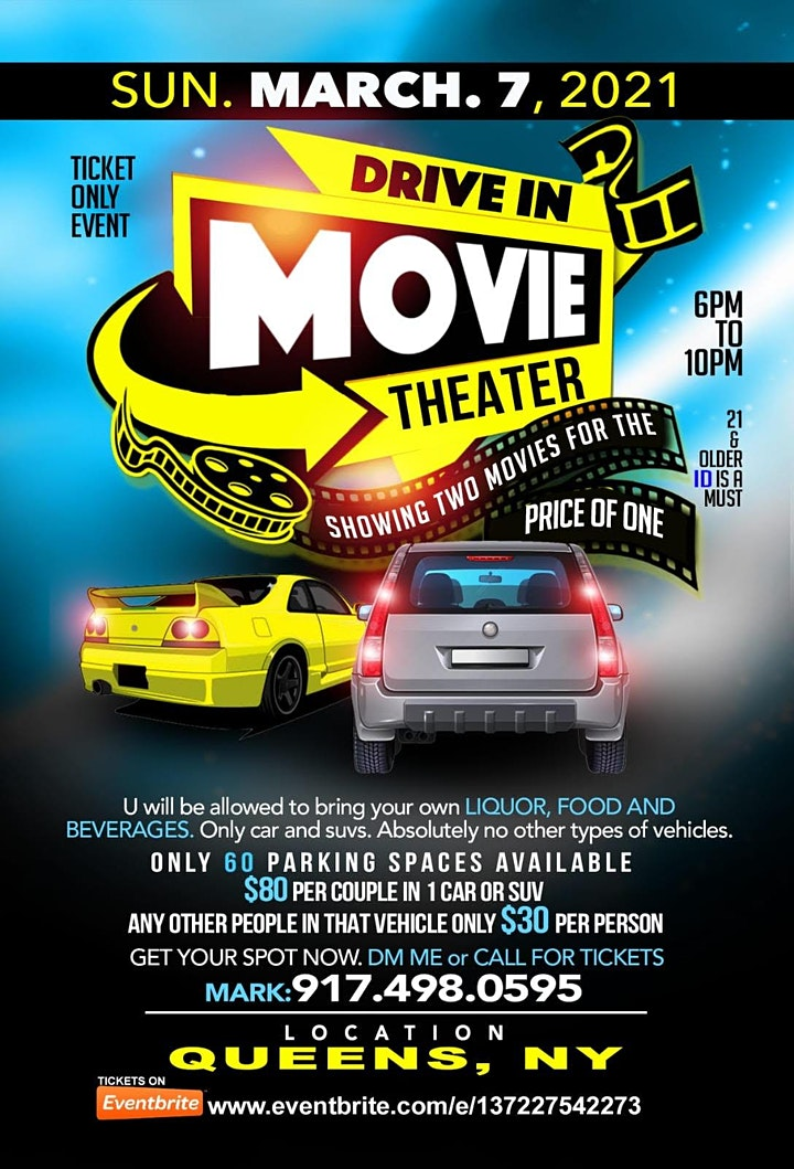 Drive In Movie Nights 2021 image