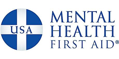 Youth Mental Health First Aid Virtual Training tickets