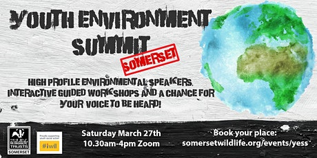 Youth Environment Summit Somerset #YESS tickets