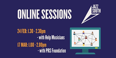 Jazz South Online Session with PRSF - 17 March 2021 tickets