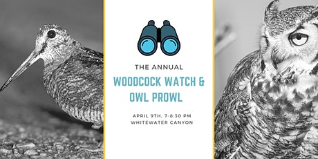 Woodcock Watch & Owl Prowl tickets