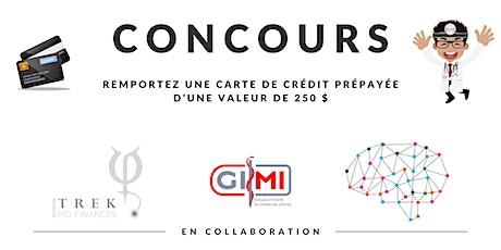 Concours Coaching Financier TREK |  Division TREK MD |  SIGN et GIMI tickets