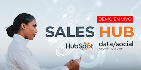 Hubspot Sales: Herramientas digitales que necesita tu equipo de ventas boletos