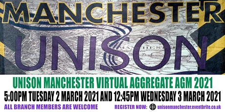 UNISON Manchester Branch Annual General Meeting tickets