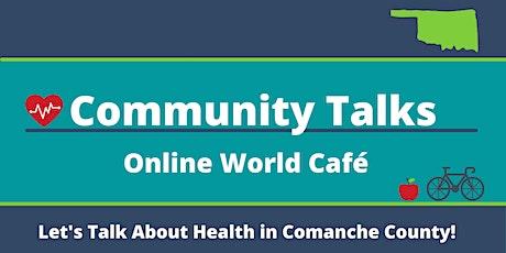 Community Talks,  online World Café billets