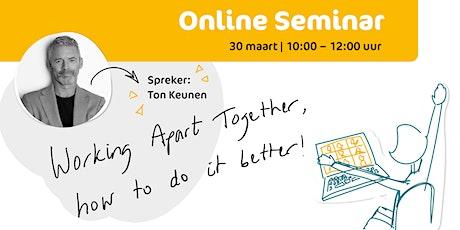WAT do you know? - Online seminar tickets