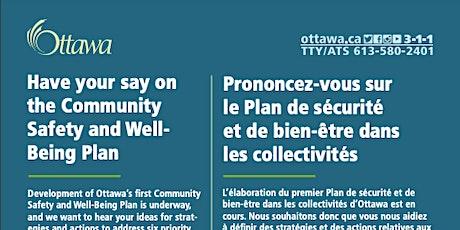 Plan de sécurité et de bien-être dans les collectivités: billets