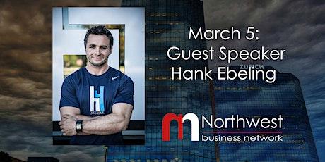 VIRTUAL Northwest Meeting March 5: Guest Speaker Hank Ebeling tickets