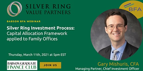 Silver Ring Investment Process applied to Family Offices tickets