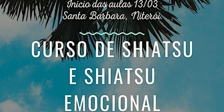 Curso de Shiatsu e Shiatsu Emocional ingressos