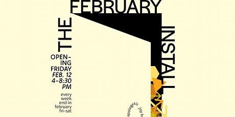 The February Install tickets