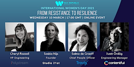 International Women's Day: From Resistance to Resilience tickets