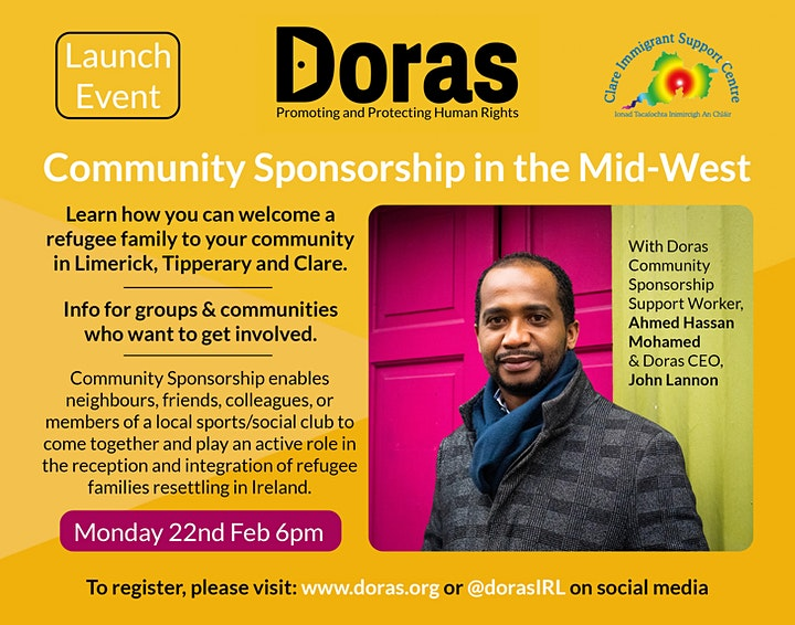 Doras Launch Community Sponsorship in the Mid-West image