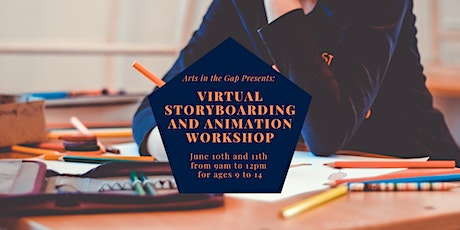 Virtual Storyboarding and Animation Workshop tickets