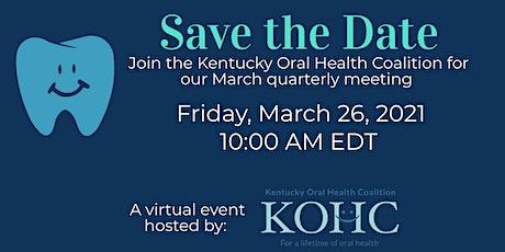 KOHC 2021 Virtual Quarterly Meeting Tickets