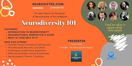 Neurodiversity 101 tickets