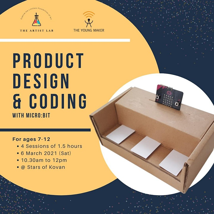 Product Design with Micro:bit Coding, Ages 7 to 12 image