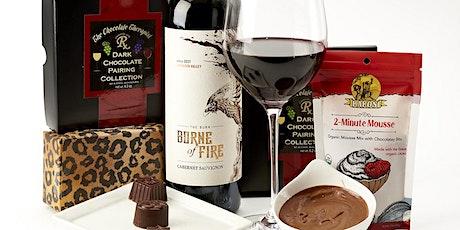 Virtual Chocolate & Wine Pairing Class with The Chocolate Therapist entradas