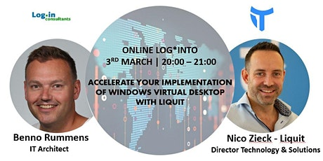Webinar - Windows Virtual Desktop x Liquit tickets