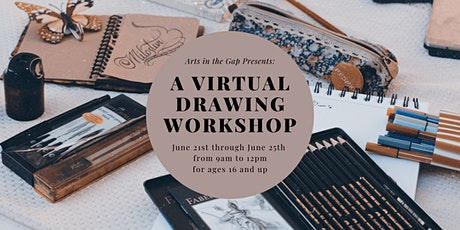 Virtual Drawing Workshop tickets