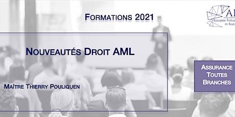 Nouveautés Droit AML tickets