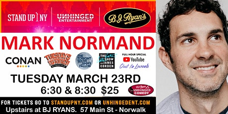 Unhinged Comedy presents: Mark Normand tickets