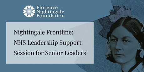 FNF Leadership Support Session for Senior Leaders tickets