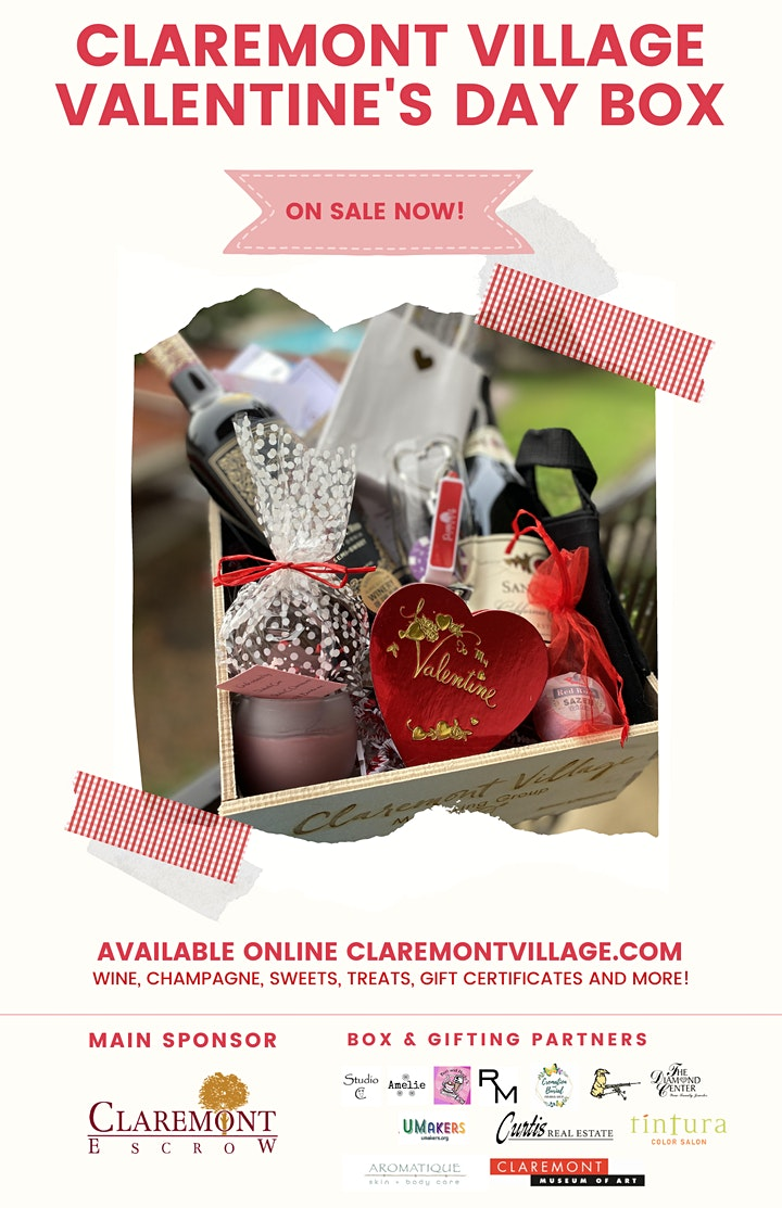 Claremont Village Marketing Group Valentine's Day Box image