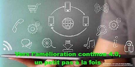 ASQ Montreal: Vers l'amélioration continue 4.0, un petit pas à la fois billets