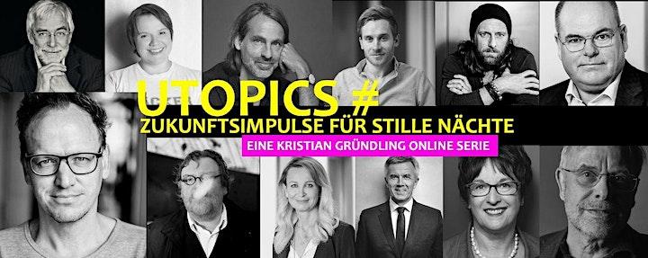 UTOPICS Talk mit Kristian Gründling und Gerald Hüther: Bild
