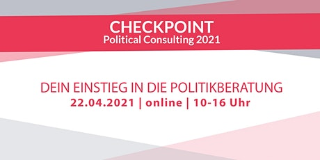 CHECKPOINT Political Consulting 2021 Tickets