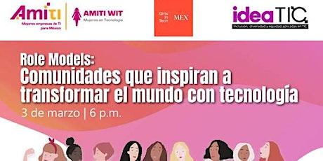 Girls in Tech AMITI WIT Idea TIC Panel boletos