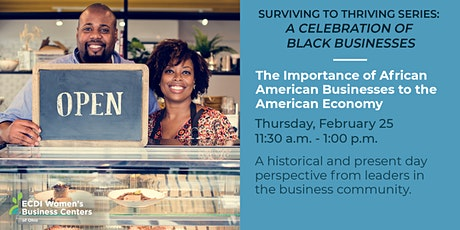 The Importance of African American Businesses to the American Economy tickets