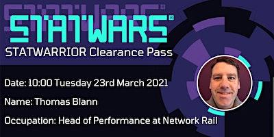 STATWARRIOR: Thomas Blann, Head of Performance at Network Rail