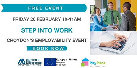 Step into Work - Croydon's Employability Event tickets