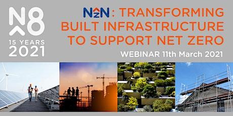 Transforming built infrastructure to support net zero tickets