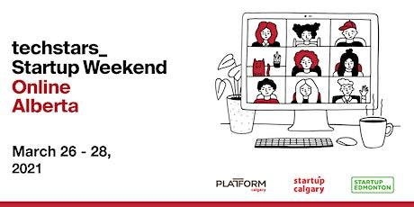Techstars Startup Weekend Online Alberta boletos
