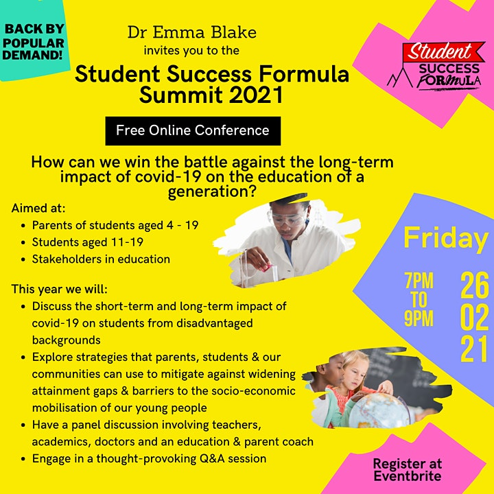 Student Success Formula Summit 2021 image