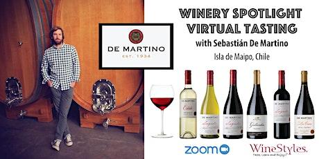 De Martino Virtual Wine Tasting tickets
