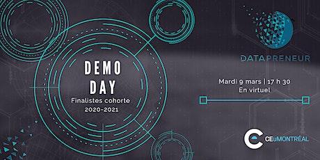 Demo Day Datapreneur 2020-2021 billets