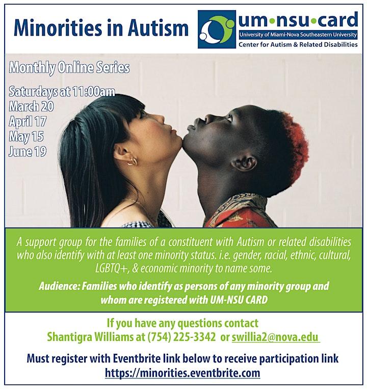 Minorities in Autism image