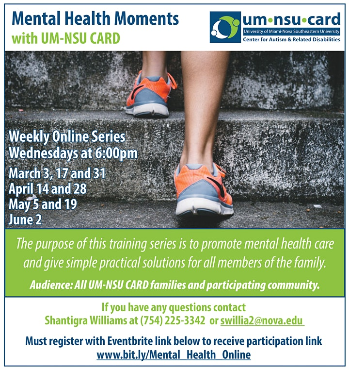 Mental Health Moments with UM-NSU CARD Online image