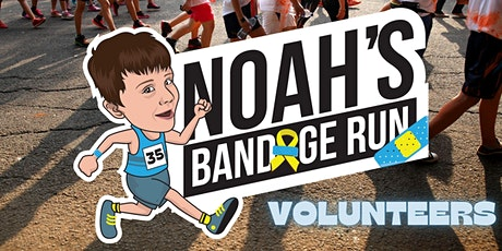 Noah's Bandage Run - Volunteers tickets