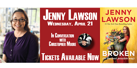 JENNY LAWSON In Conversation with CHRISTOPHER MOORE tickets