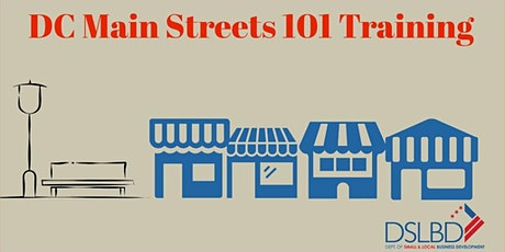 DC Main Streets 101 Training Virtual Edition tickets