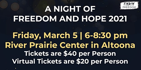 Night of Freedom & Hope 2021 tickets