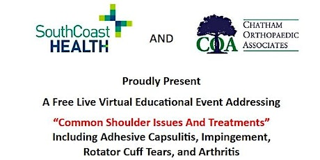 Common Shoulder Issues And Treatments - A Free Live Virtual Educational Eve tickets